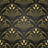 Seamless Damask Background Royalty Free Stock Image