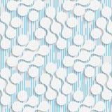 Seamless Damask Design. Futuristic Tile Pattern Royalty Free Stock Images