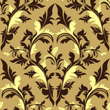 Seamless damask floral Ornament. Stock Photography