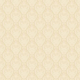 Seamless damask golden background Stock Photo