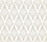 Seamless damask golden pattern Stock Photography