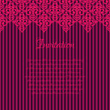 Seamless damask luxury background Royalty Free Stock Images