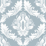 Seamless damask Ornament for Wallpaper design Stock Images