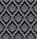 Seamless damask ornate Wallpaper for design Stock Photography
