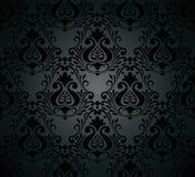 Seamless damask ornate Wallpaper for design Stock Image