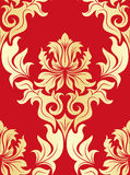 Seamless damask pattern Royalty Free Stock Image