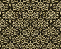 Seamless damask pattern vector illustration