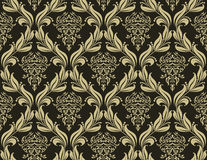 Seamless damask pattern Royalty Free Stock Photography