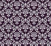 Seamless damask pattern royalty free illustration