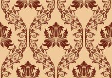 Seamless damask pattern Royalty Free Stock Image