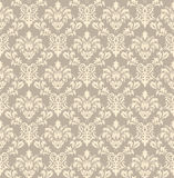 Seamless damask pattern Stock Photo