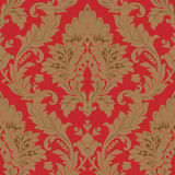 Seamless damask pattern. Seamless pattern vector illustration element for design Stock Photography