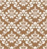 Seamless damask pattern Stock Images