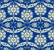 Seamless damask pattern Stock Photography
