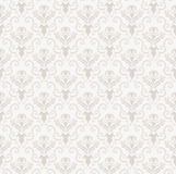 Seamless damask pattern. Damask seamless vector pattern.  For easy making seamless pattern just drag all group into swatches bar, and use it for filling any Royalty Free Stock Image