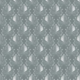 Seamless damask pattern. Background for your design Stock Photo
