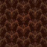 Seamless damask pattern. Vector illustration Stock Photography