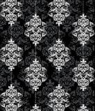 Seamless damask pattern Royalty Free Stock Photos