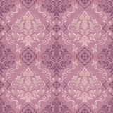 Seamless damask pattern for background or wallpaper design Royalty Free Stock Photos