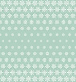 Seamless damask pattern in dark blue. Royalty Free Stock Photos