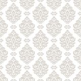Seamless damask pattern. Stock Image