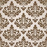 Seamless damask pattern. Stock Images