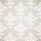 Seamless damask pattern. Royalty Free Stock Images