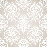 Seamless damask pattern. Royalty Free Stock Photography