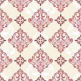 Seamless damask pattern. Royalty Free Stock Image