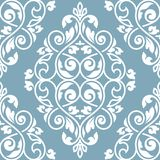 Seamless damask pattern. Damask seamless pattern for design. 10 eps Royalty Free Stock Images