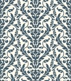 Seamless damask pattern Royalty Free Stock Photo