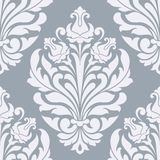 Seamless damask pattern. Damask seamless pattern for design. This is file of EPS10 format Royalty Free Stock Photo