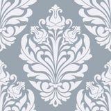 Seamless damask pattern. Royalty Free Stock Photo