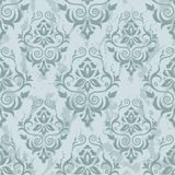 Seamless damask pattern. Damask seamless pattern for design. Vector Illustration royalty free illustration