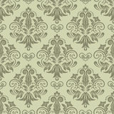 Seamless damask pattern. Damask seamless pattern for design. Vector Illustration vector illustration