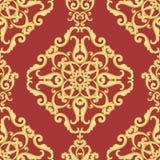 Seamless damask pattern. Royalty Free Stock Photography
