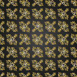Seamless Damask Pattern. Traditional classic orient ornament. Black and golden pattern Stock Photos