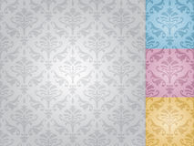 Seamless damask pattern (vector) Stock Photography