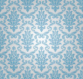 Seamless damask pattern (vector) royalty free illustration