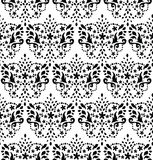 Seamless damask pattern. Vector seamless elegant retro pattern Stock Image