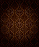 Seamless damask pattern Stock Photos