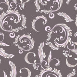 Seamless damask pattern. royalty free illustration