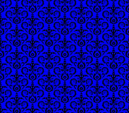 Seamless damask pattern wallpaper Royalty Free Stock Photography