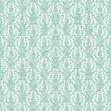 Seamless damask turquoise background Royalty Free Stock Photography