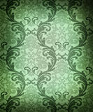 Seamless damask wallpaper Royalty Free Stock Images