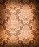 Seamless damask wallpaper Stock Photography