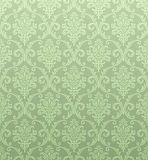 Seamless damask wallpaper. Both the  pattern and the JPG are seamless Stock Image