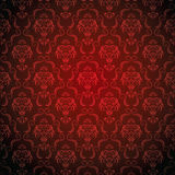 Seamless Damask wallpaper Stock Photos