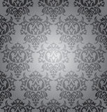 Seamless damask wallpaper Royalty Free Stock Photography