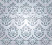 Seamless damask wallpaper Royalty Free Stock Photography